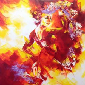 Flamenco     Format 80x80cm     980 €